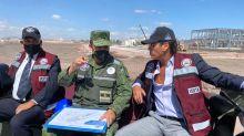 El Ejército da recorrido por Santa Lucía a Roberto Palazuelos; es por mis negocios, dice el actor