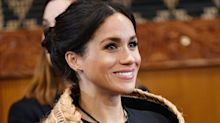 There's a Really Sweet Hidden Meaning Behind Meghan Markle's Flax Cloak
