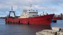 Llegan a Argentina los tripulantes rescatados del buque español hundido Dorneda