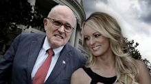 Giuliani insists that Stormy Daniels has no credibility because she's a porn star
