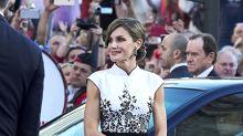 ¿Vestirá Letizia Ortiz de Felipe Varela (otra vez) en los Premios Princesa de Asturias 2018?