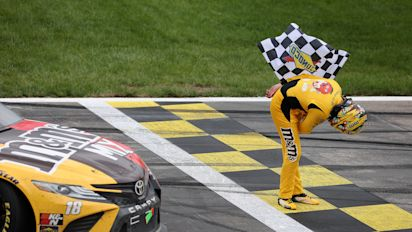 Happy Birthday, Kyle! Busch Birthday win at Kansas