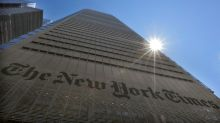 New York Times' digital subscriber growth slows, shares drop