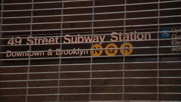 Man pushed into moving subway, according to witnesses