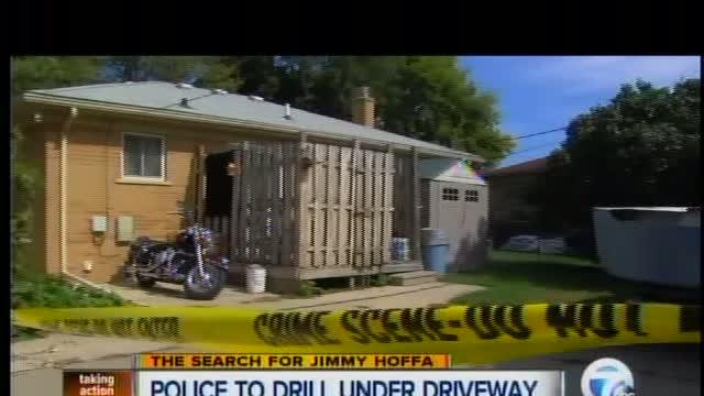 Police to drill under driveway in Roseville