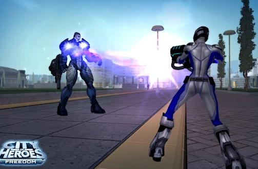 City of Heroes to get frickin' laser beams [Updated]