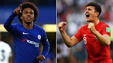 Gossip: Chelsea 'consider £65m Barca bid for Willian amid Man Utd interest', key defender 'could be sacrificed for Maguire'
