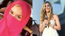 Joss Stone sparks online debate after wearing pink niqab in Saudi Arabia