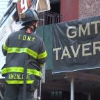 4 firefighters injured, popular tavern destroyed in fire