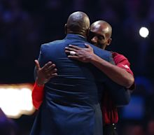 "I thought he was going to live forever"": Magic Johnson on Kobe Bryant"