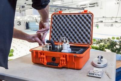 Hemp's Headache Over - Portable THC Test with LightLab Cannabis Analyzer by Orange Photonics