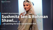 Sushmita Sen and Rohman Shawl glam up their friend's wedding