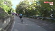 Cyclisme - Giro : Felline chute dans les derniers kilomètres