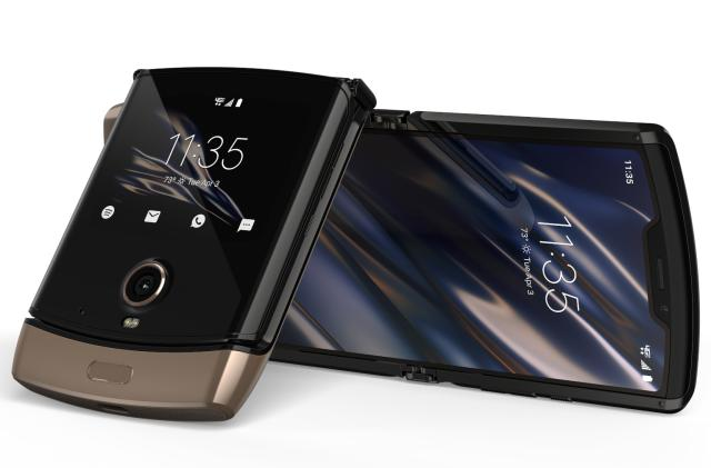 Motorola's Razr is still $1,500 but now you can get it in 'blush gold'