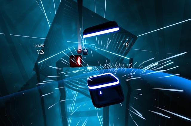 'Beat Saber' will be available for Oculus Quest on day one