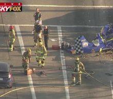Arizona plane crash: One dead after aircraft hits Phoenix roadway intersection