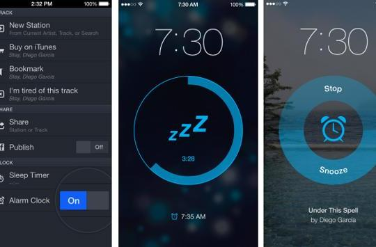 Pandora adds alarm feature to iOS app, lets you trade clock radio buzzing for the Buzzcocks