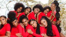Bailarinas do Faustão fazem ensaio inspirado na Consciência Negra