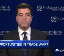 Watch a CIO explain where investors can find value in the market amid trade tensions