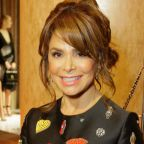 Paula Abdul Falls Off Stage During Concert