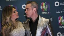 Robbie Williams calls off boxing match with Liam Gallagher after wife Ayda tells him he is not up to it