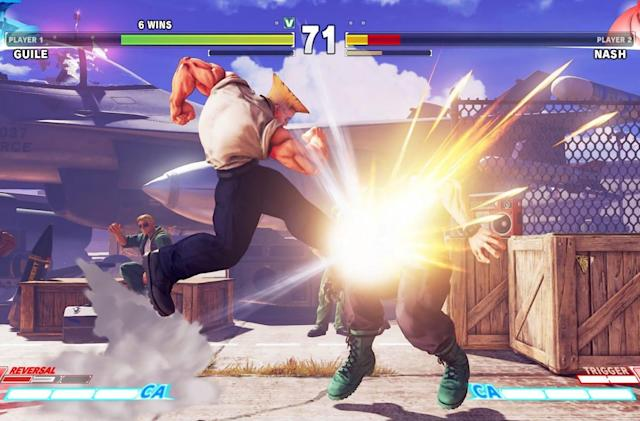 The US Army's 'Street Fighter V' tournament starts Saturday