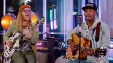 'American Idol' contestant gets deep with real-life idol Allen Stone