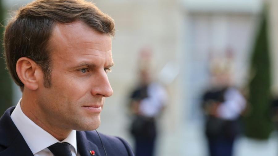 Macron pour une large coalition au Parlement européen