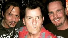 Platoon reunion for Charlie Sheen, Johnny Depp and Kevin Dillon