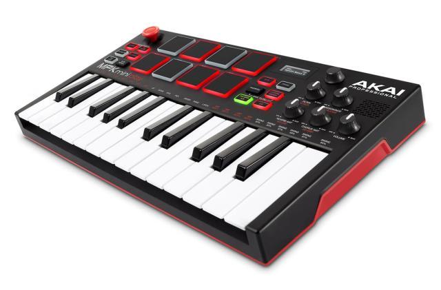 Akai's MPK Mini Play is a compact battery-powered beats machine