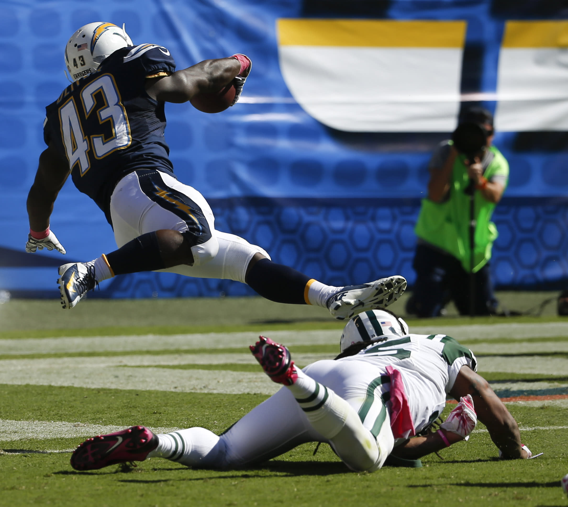 San Diego Chargers Game Score: Rivers, Chargers Race Past Hapless Jets, 31-0