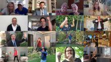 'The Office' cast reunites to help John Krasinski pull off surprise Zoom wedding