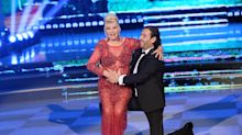 Ivana Trump wore a red see-through dress on Italy's 'Dancing With the Stars'
