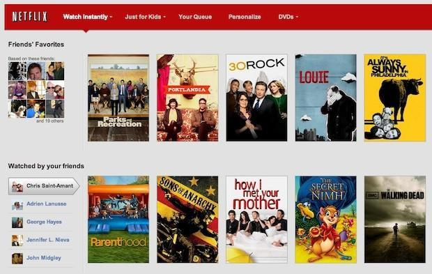 Facebook sharing comes to Netflix users in the US
