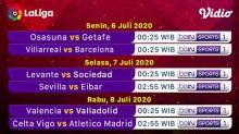 Jadwal dan Link Live Streaming La Liga Malam Ini di Vidio: Sevilla Vs Eibar