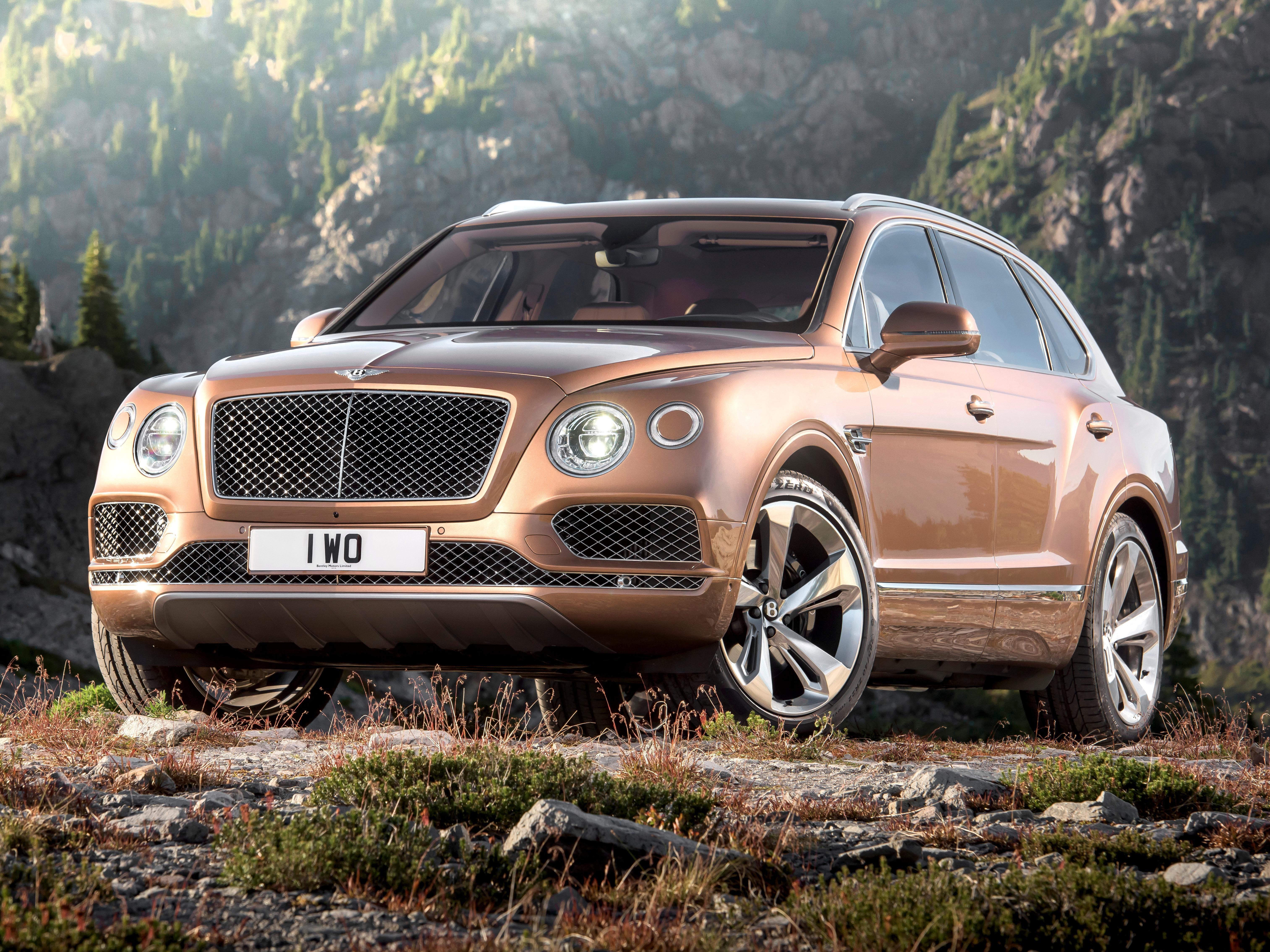 The Bentley Bentayga is the first of a new kind of hyper luxury SUV