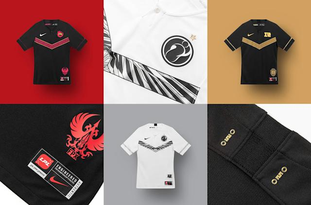 Take a look at Nike's first esports jerseys