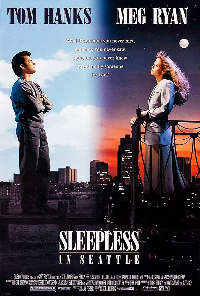2.《西雅圖夜未眠》Sleepless in Seattle,1993