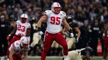 Nebraska defensive lineman Ben Stille announces he will be back