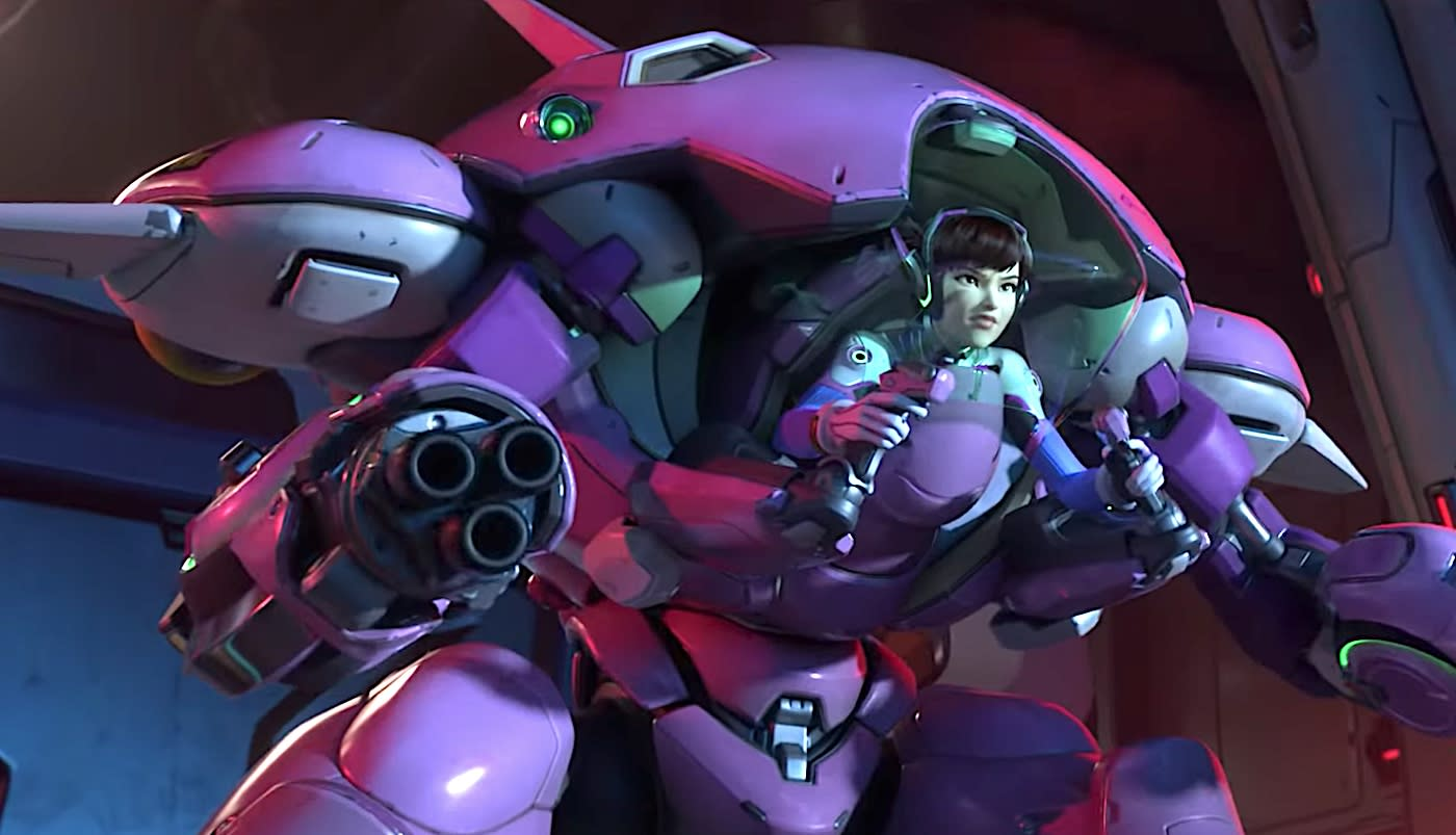 New 'Overwatch' map spotlights D.Va and the MEKA Squad | Engadget