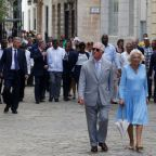 Prince Charles meets Cuban president on historic trip to Havana