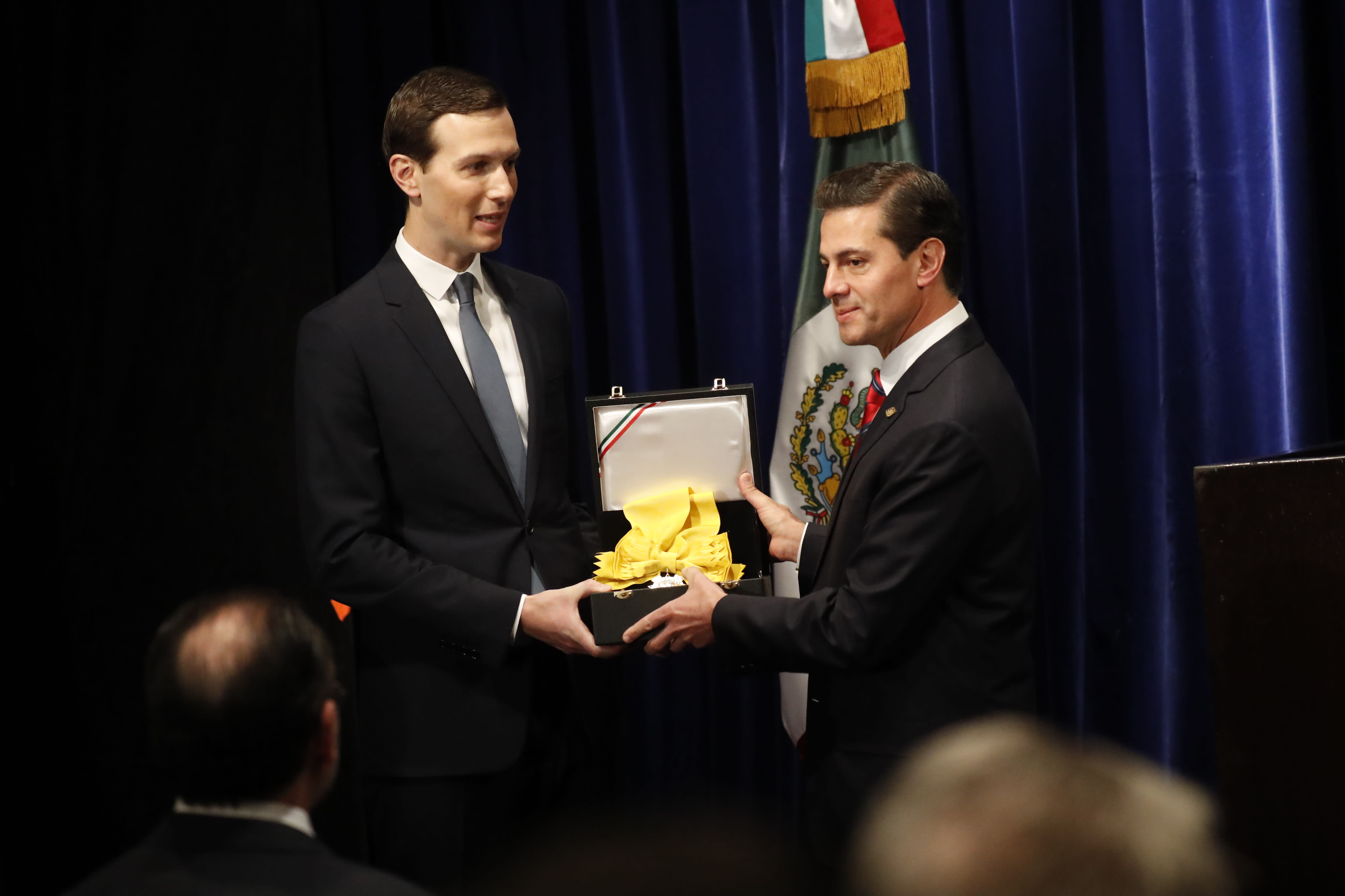 Spelling Of Honor: Mexico Bestows Highest Honor On Trump Son-in-law Kushner