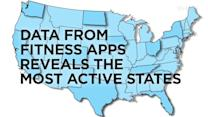 Fitness App Data Reveals Most Active States