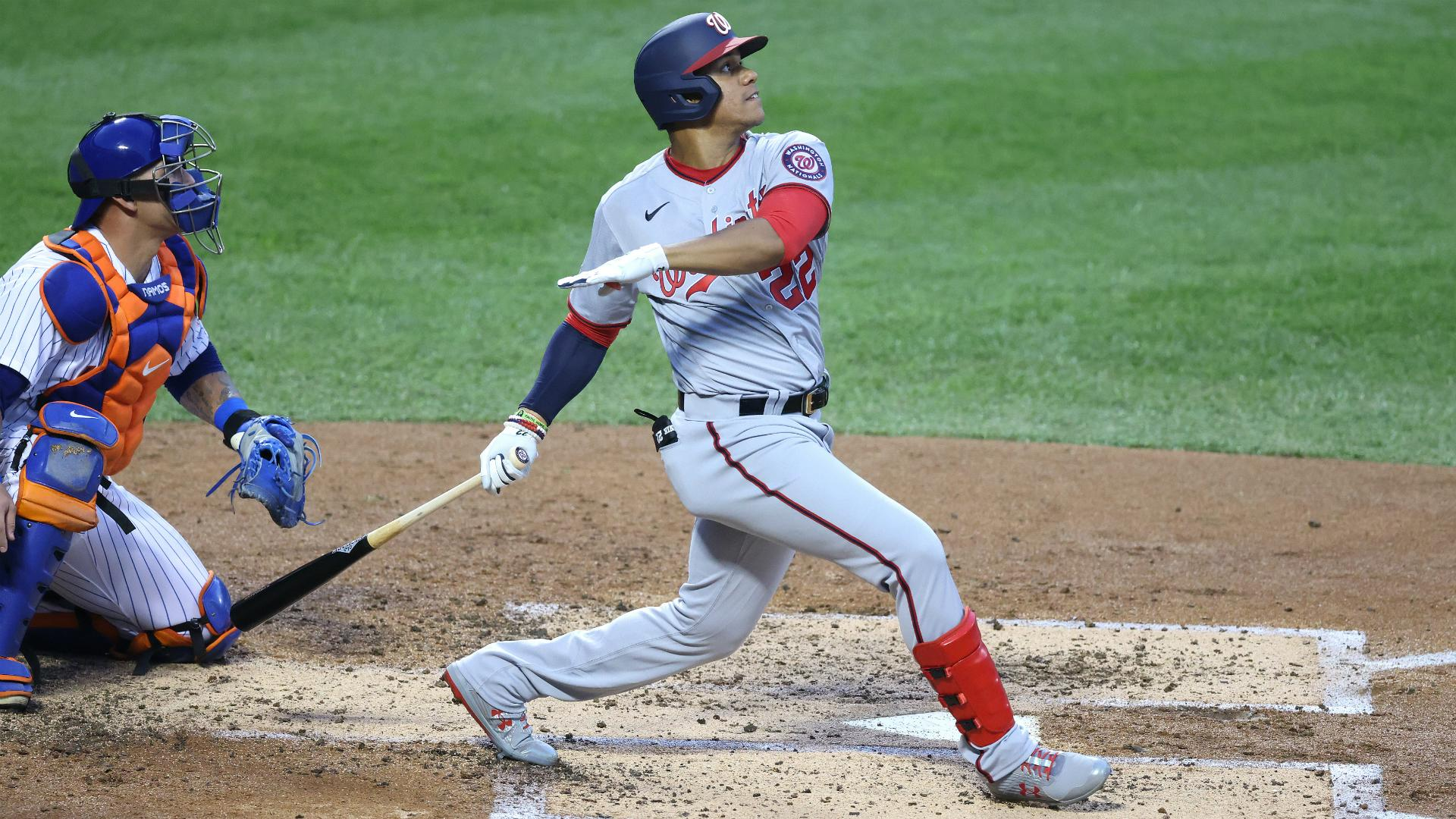 Nationals score 16 runs against Mets, Phillies hit five homers
