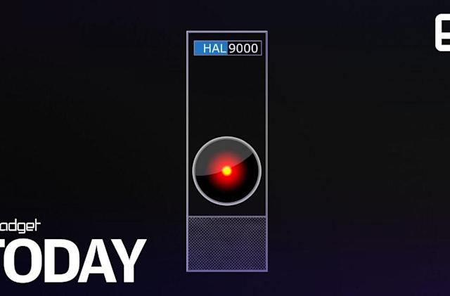 Get your own HAL-9000 replica with Bluetooth and voice command