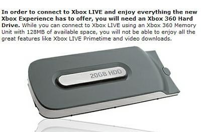 "Microsoft's New Xbox Experience storage ""solution"": Free memory cards, discounted hard drives"