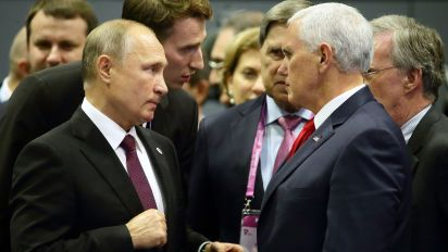 Putin tells Pence there was no election meddling: Report