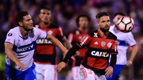 Diego lamenta oportunidades perdidas pelo Flamengo no Chile