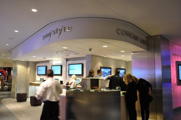 Sony Style Comcast Labs opens to show off future of high-speed internet