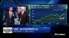 Mr. Wonderful, Oz Pearlman and the Beardstown Ladies make their first round stock picks